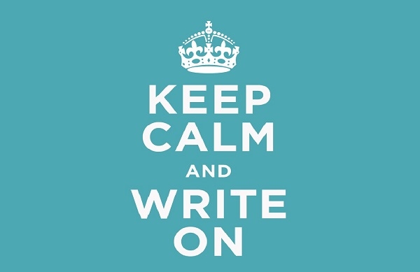 keepcalmandwriteon